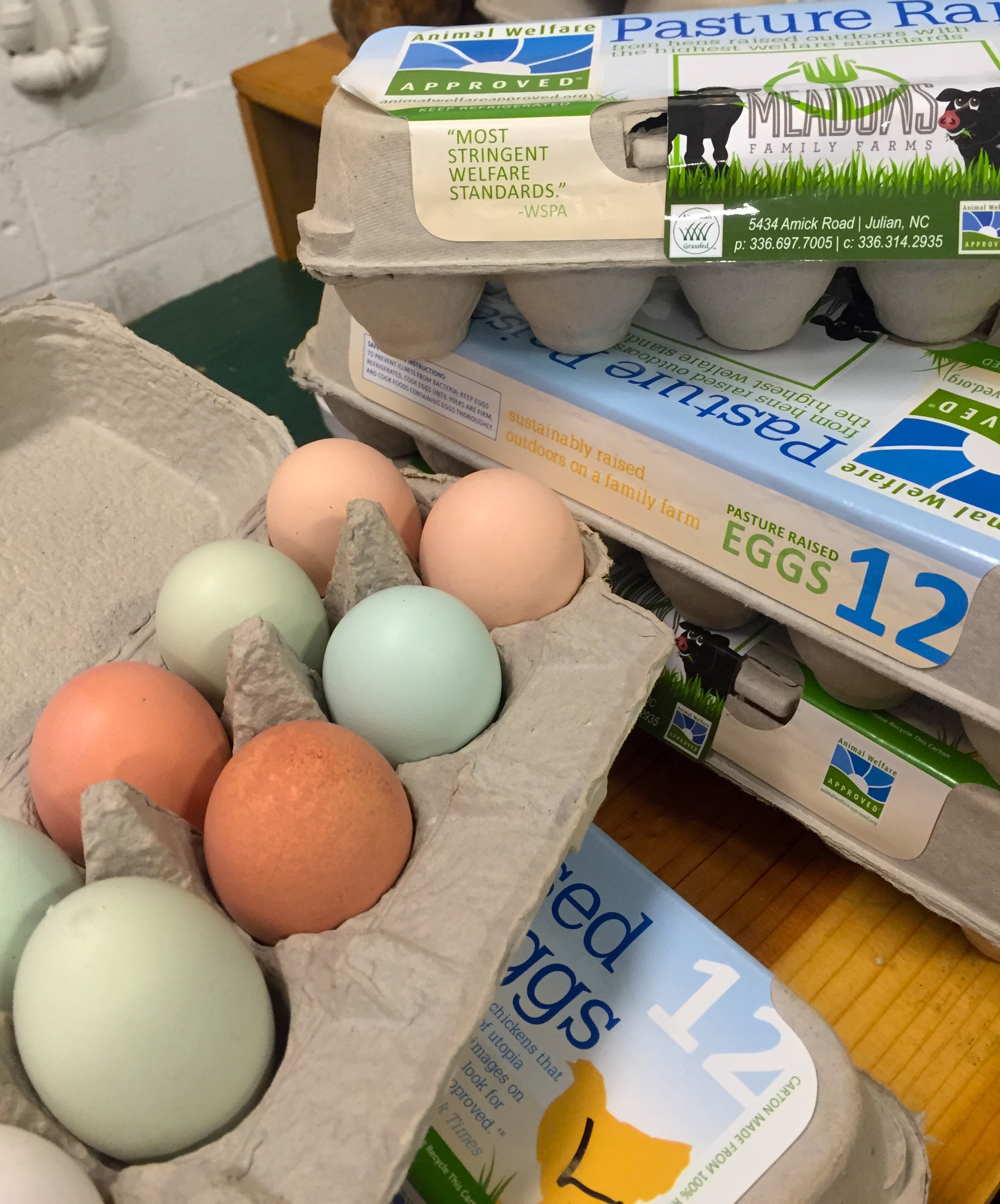 Meadows Farm eggs