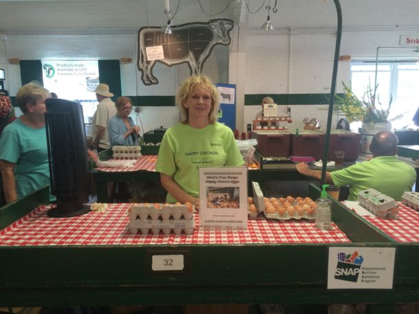 Meet Your Vendor: Ward's Happy Chickens
