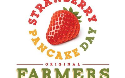 Strawberry Pancake and Celebration Day on May 20, 2017 from 8:00 am – 11:30 am