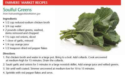 Recipes from Cooking with the Cooperative Extension
