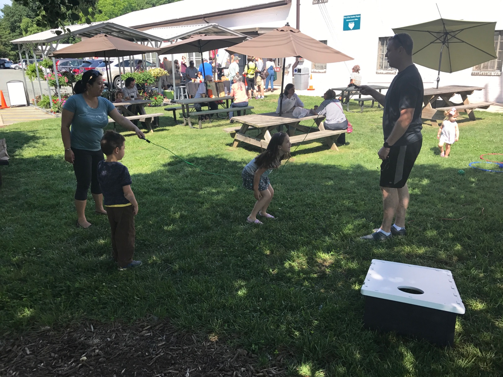 Children's Summer Activities:  Kids Corner on the Lawn