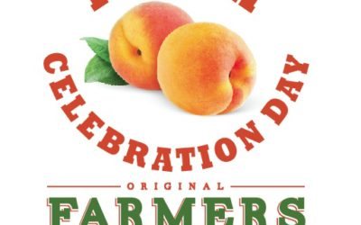 Celebrate Peach Day on Saturday, July 29 at Greensboro Farmers Curb Market