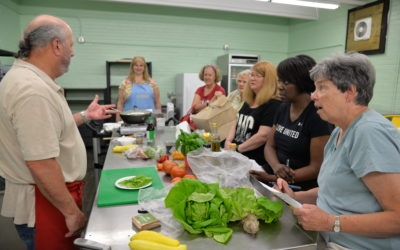 Local Food Cooking Demonstration with Michael Magnes – Falling for Vegetables