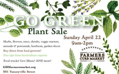 Go Green Annual Plant Sale